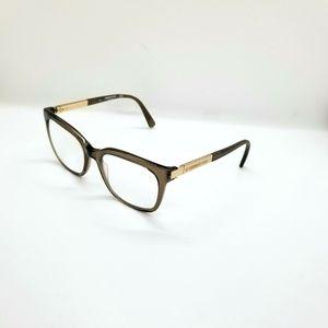 Kenneth Cole Eyeglasses For Frames Brown Transluce